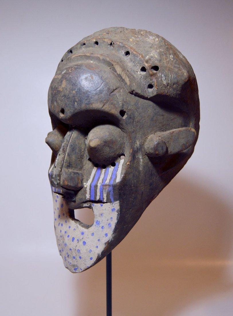 Fantastic Kuba Ngeende African Helmet mask - 5