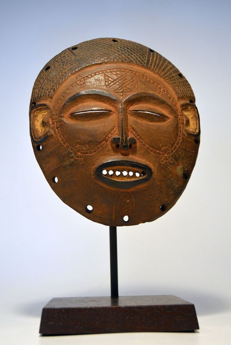 A Fine Chokwe African mask from Angola