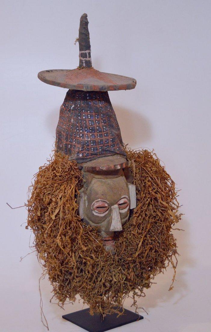 A Rare Yaka N-Khanda African mask , African Art
