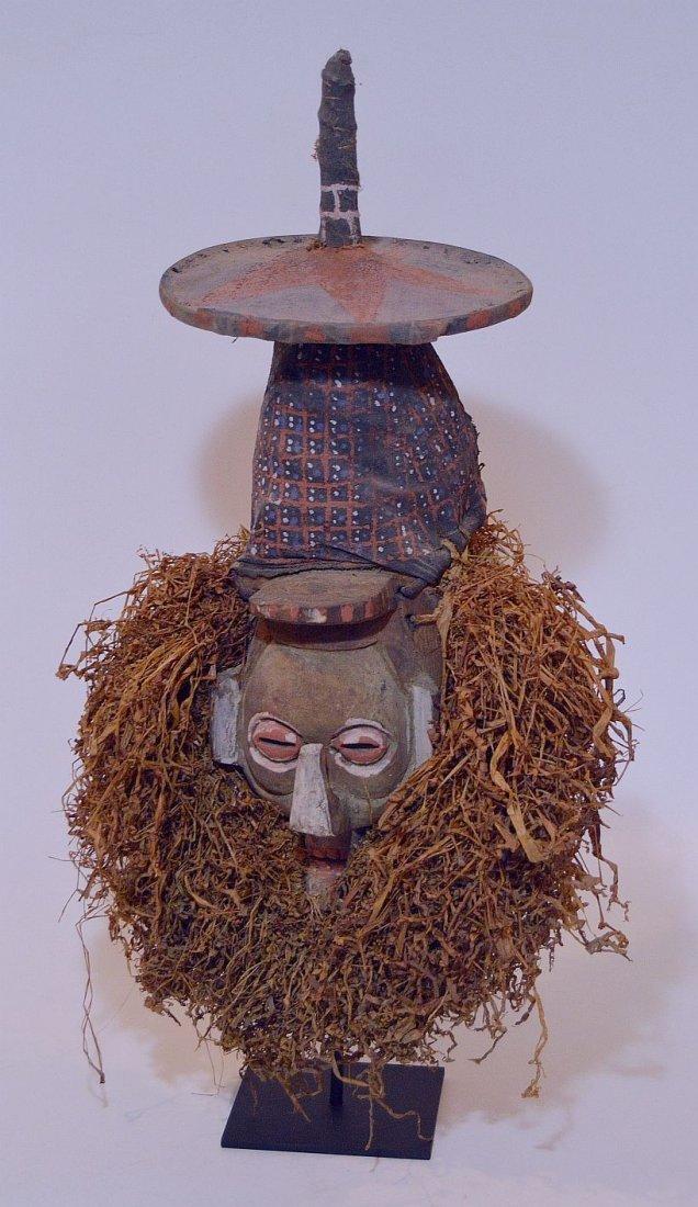 A Rare Yaka N-Khanda African mask , African Art - 2