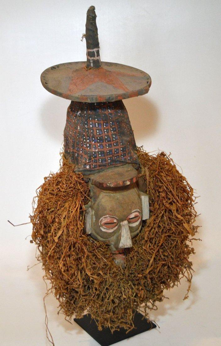 A Rare Yaka N-Khanda African mask , African Art - 3