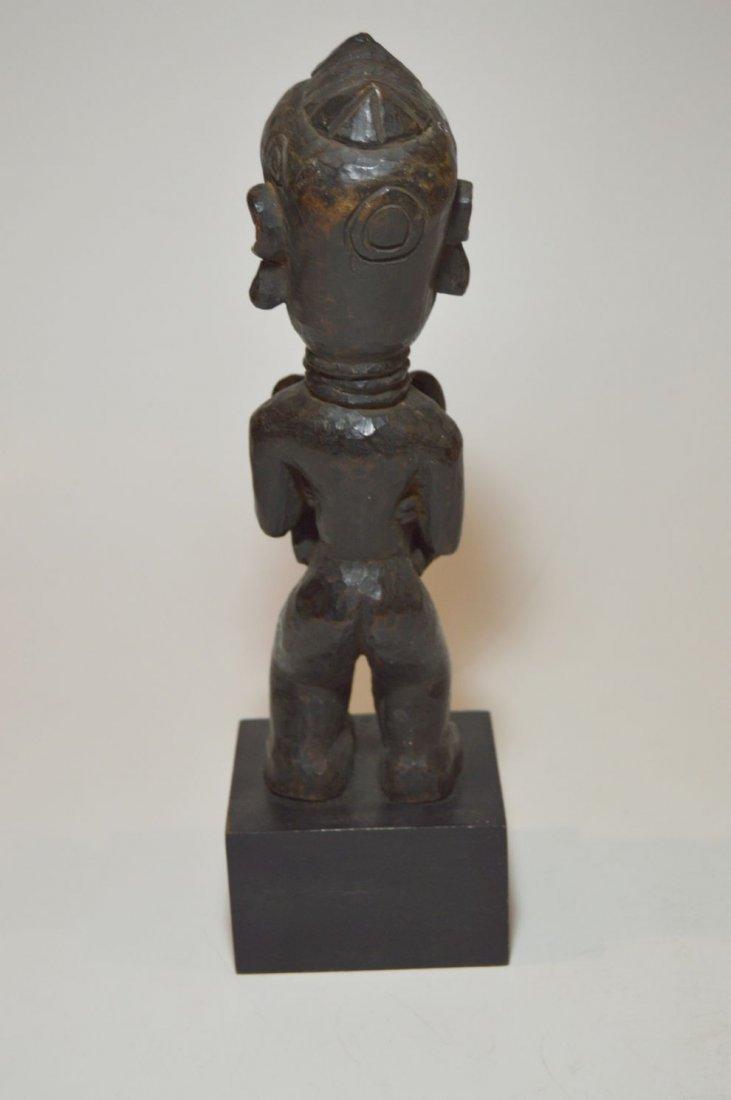 Old Lulua Maternity sculpture, African Tribal Art - 6