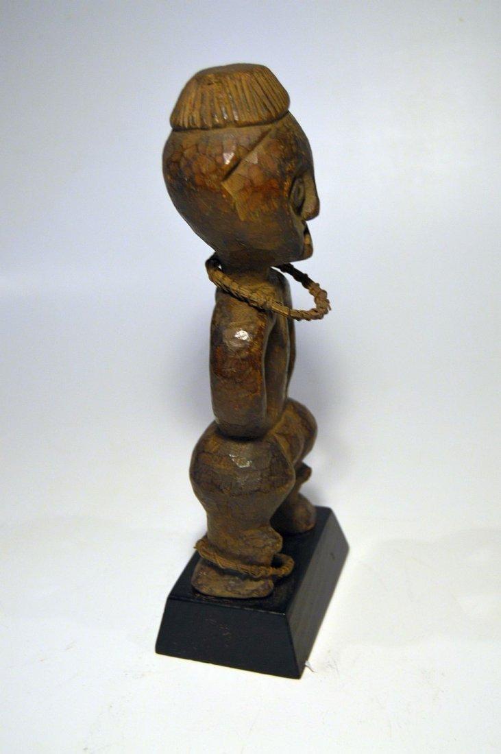 Rare Azande Female idol, African Tribal Art - 3