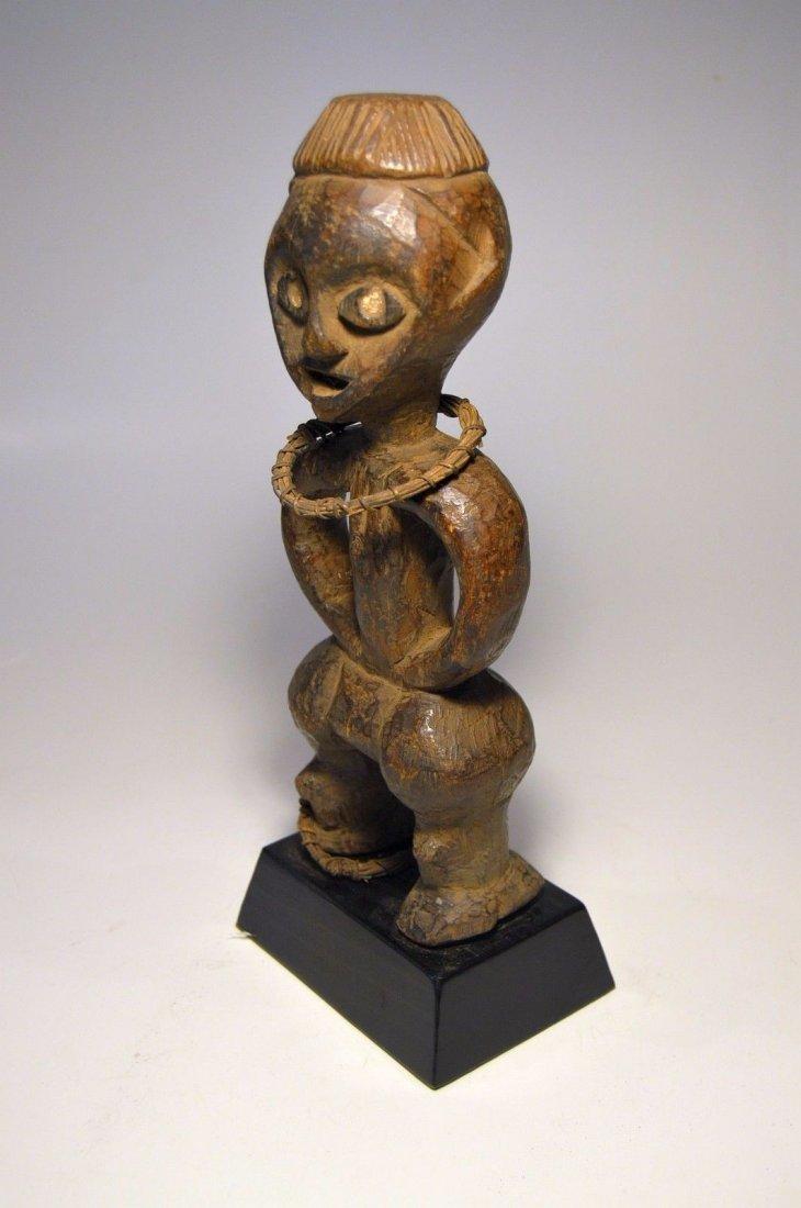 Rare Azande Female idol, African Tribal Art - 4