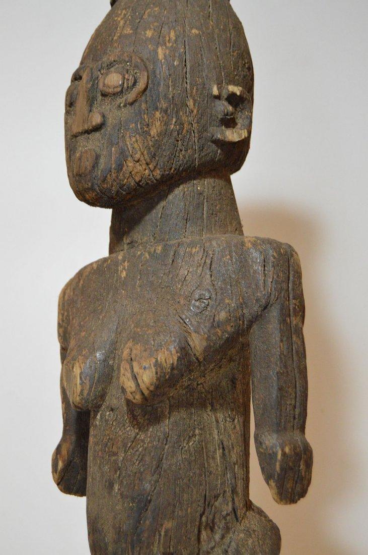 Rare Old Ngbaka Ancestor sculpture, African Tribal