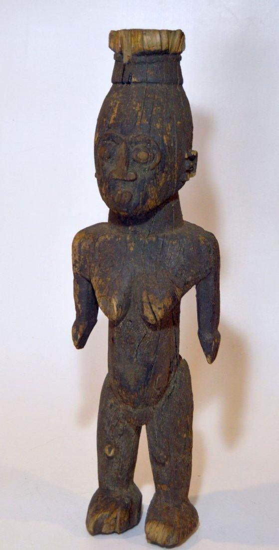 Rare Old Ngbaka Ancestor sculpture, African Tribal - 2