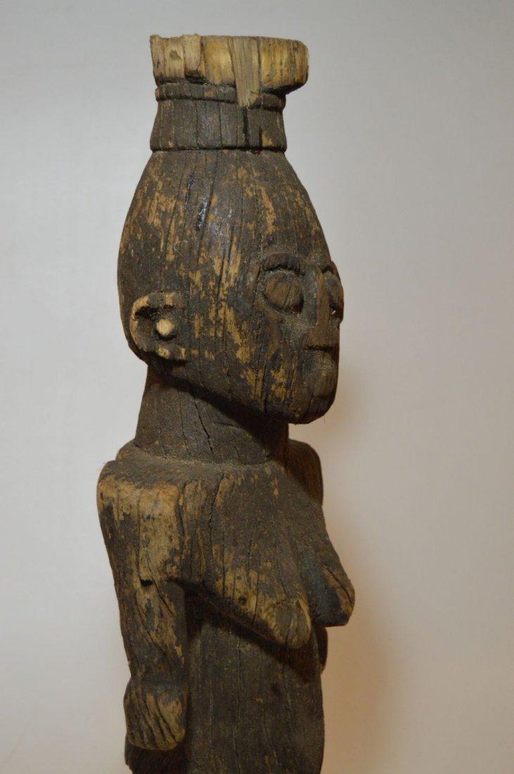 Rare Old Ngbaka Ancestor sculpture, African Tribal - 3