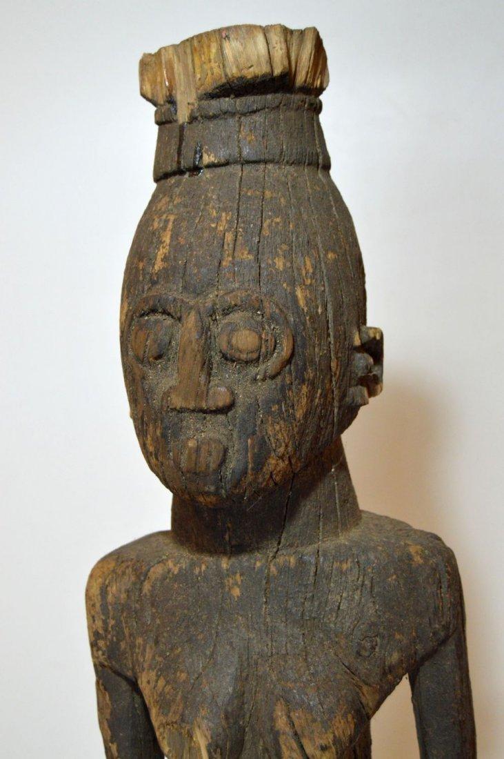 Rare Old Ngbaka Ancestor sculpture, African Tribal - 4