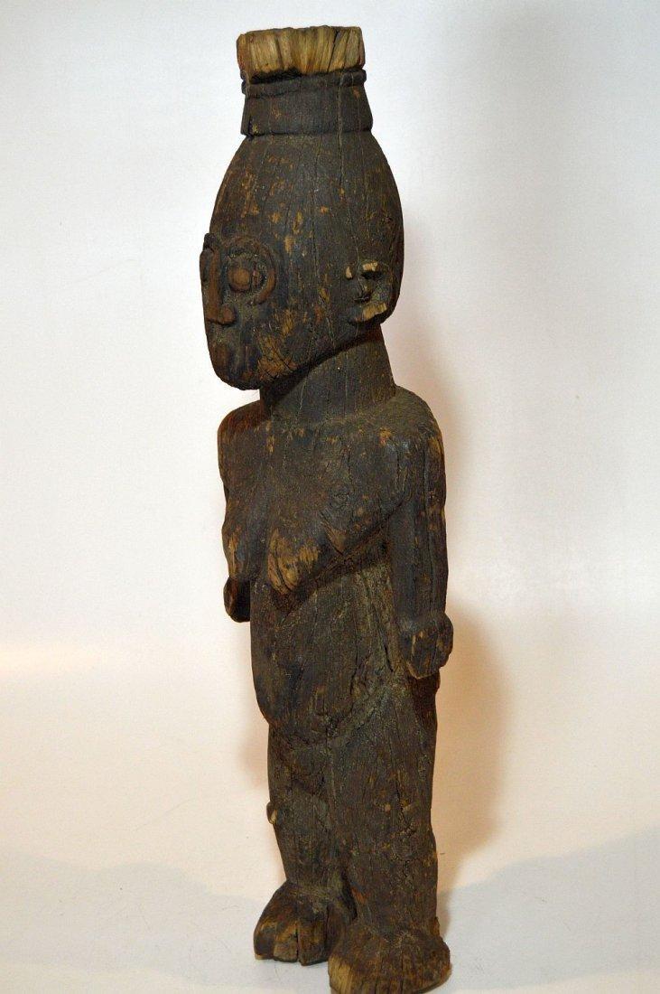 Rare Old Ngbaka Ancestor sculpture, African Tribal - 6