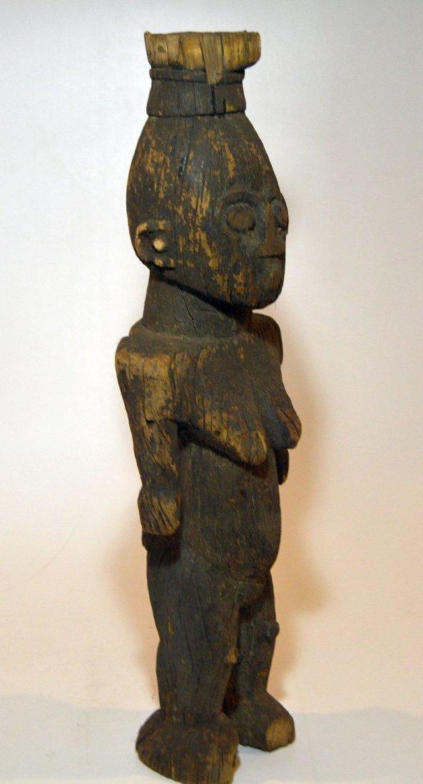 Rare Old Ngbaka Ancestor sculpture, African Tribal - 7