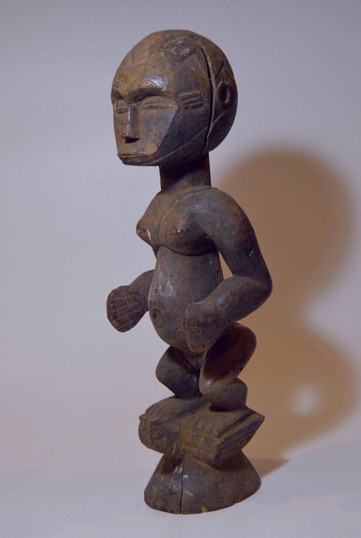 Rare Old Eket sculpture, African Tribal Art