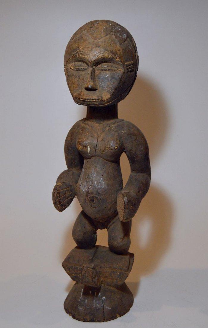 Rare Old Eket sculpture, African Tribal Art - 3