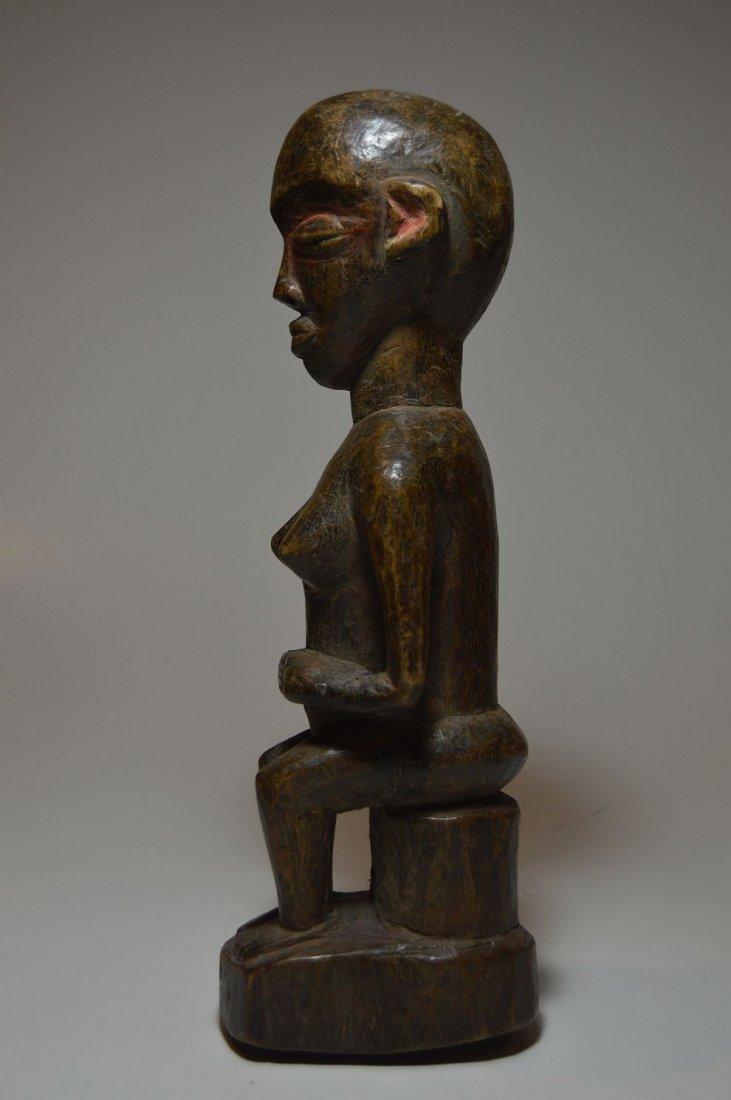 Rare Old Eket sculpture, African Tribal Art - 4