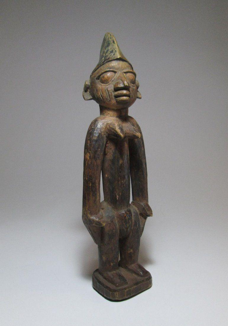 Old Yoruba Shrine idol, Ibeji, African Art