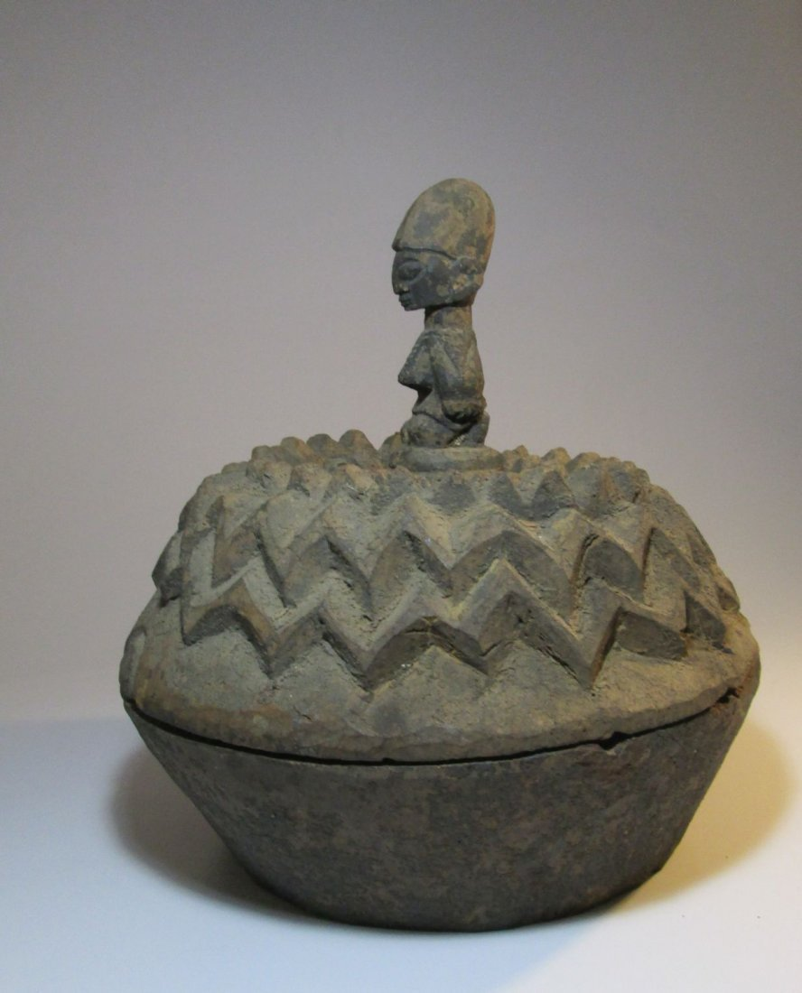 large Yoruba Divination vessel, African Art - 4