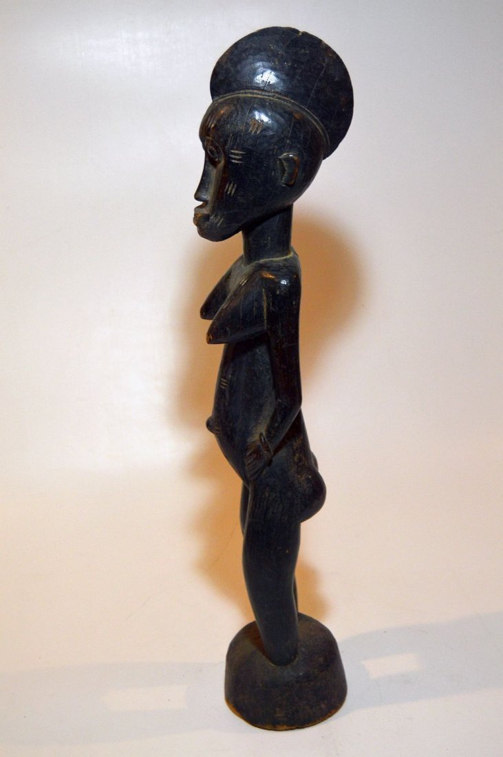 Vintage Senufo female sculpture, African Tribal Art - 3