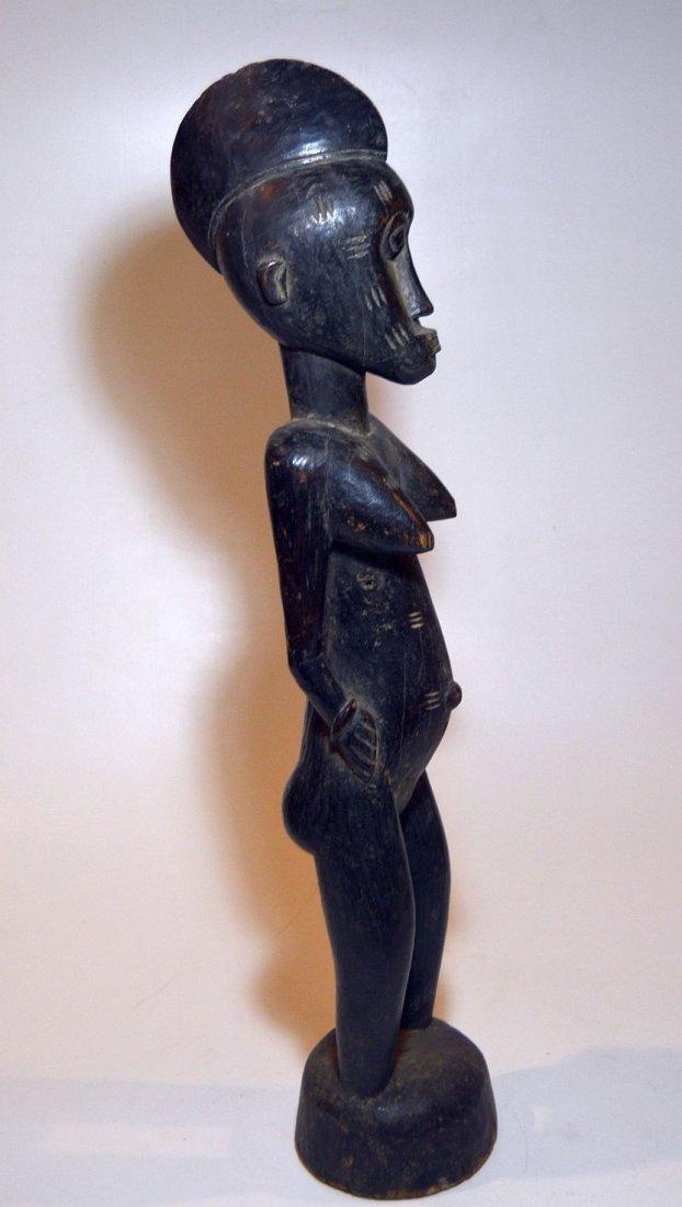Vintage Senufo female sculpture, African Tribal Art - 4