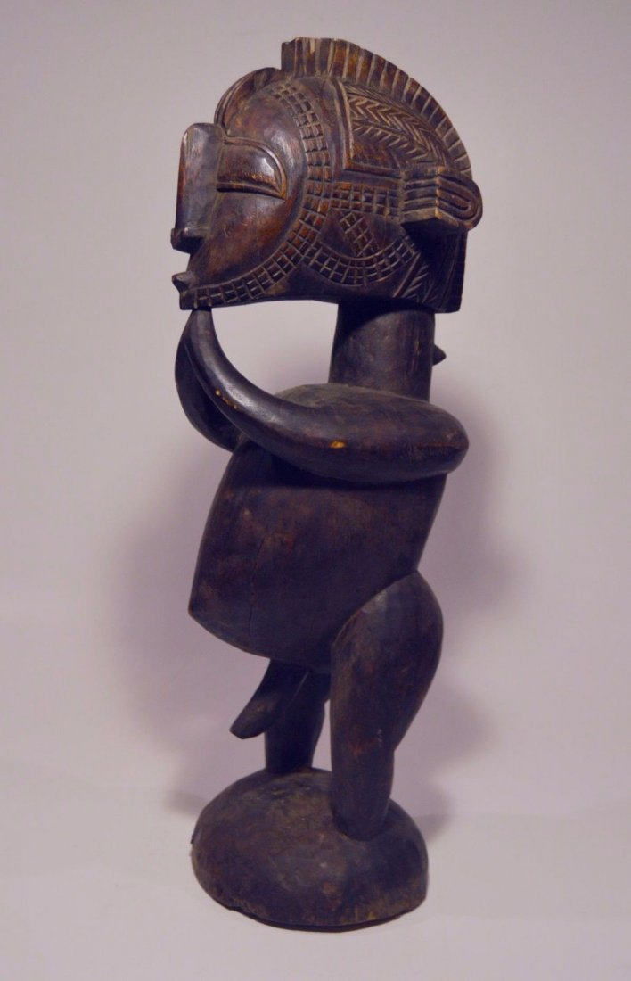 Stylized Nimba Ancestor from the Baga , African Art