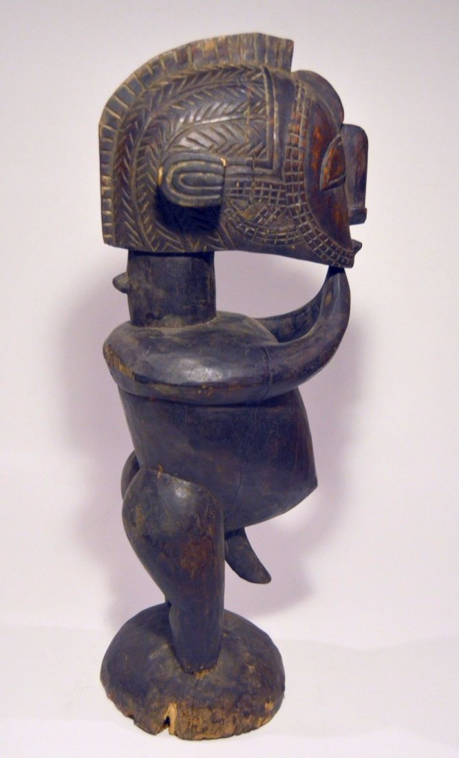 Stylized Nimba Ancestor from the Baga , African Art - 4