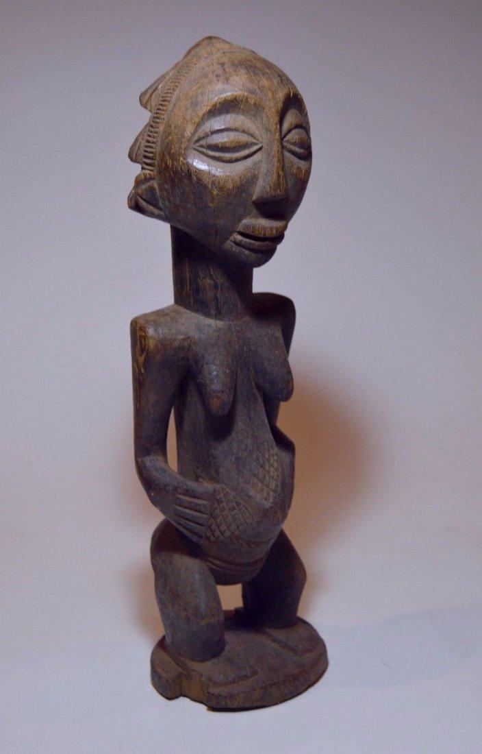 Vintage Hemba female sculpture, African Tribal Art