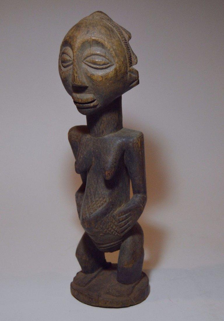 Vintage Hemba female sculpture, African Tribal Art - 2