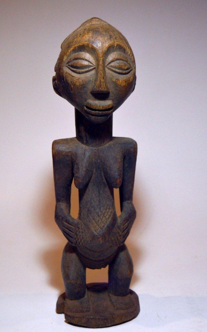 Vintage Hemba female sculpture, African Tribal Art - 3