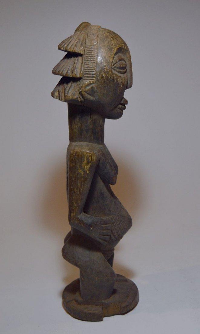 Vintage Hemba female sculpture, African Tribal Art - 4