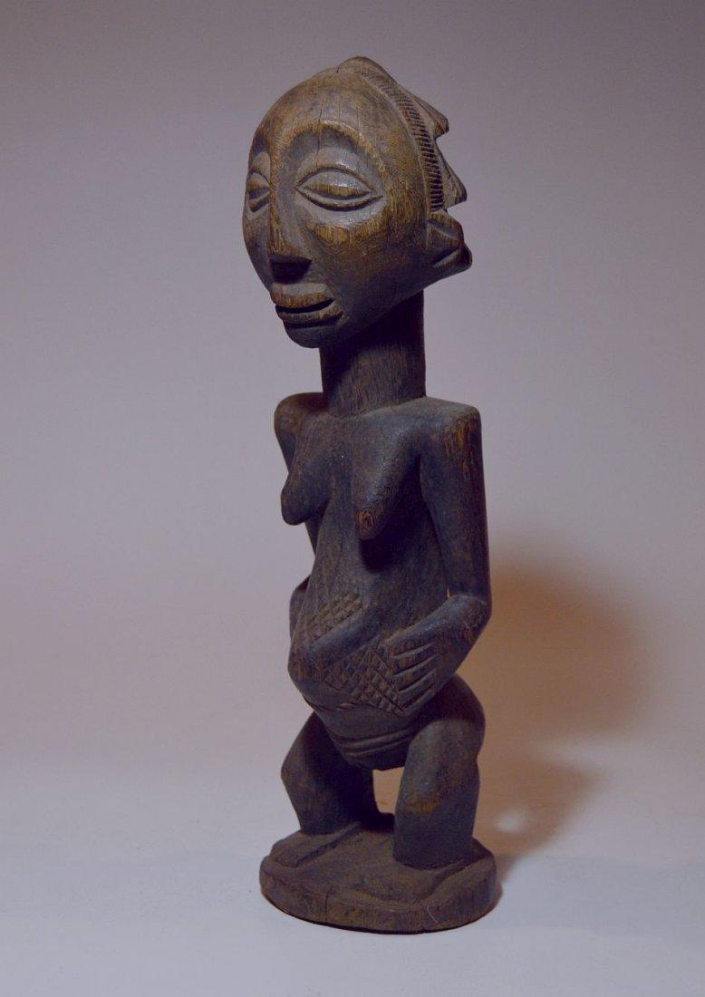 Vintage Hemba female sculpture, African Tribal Art - 6