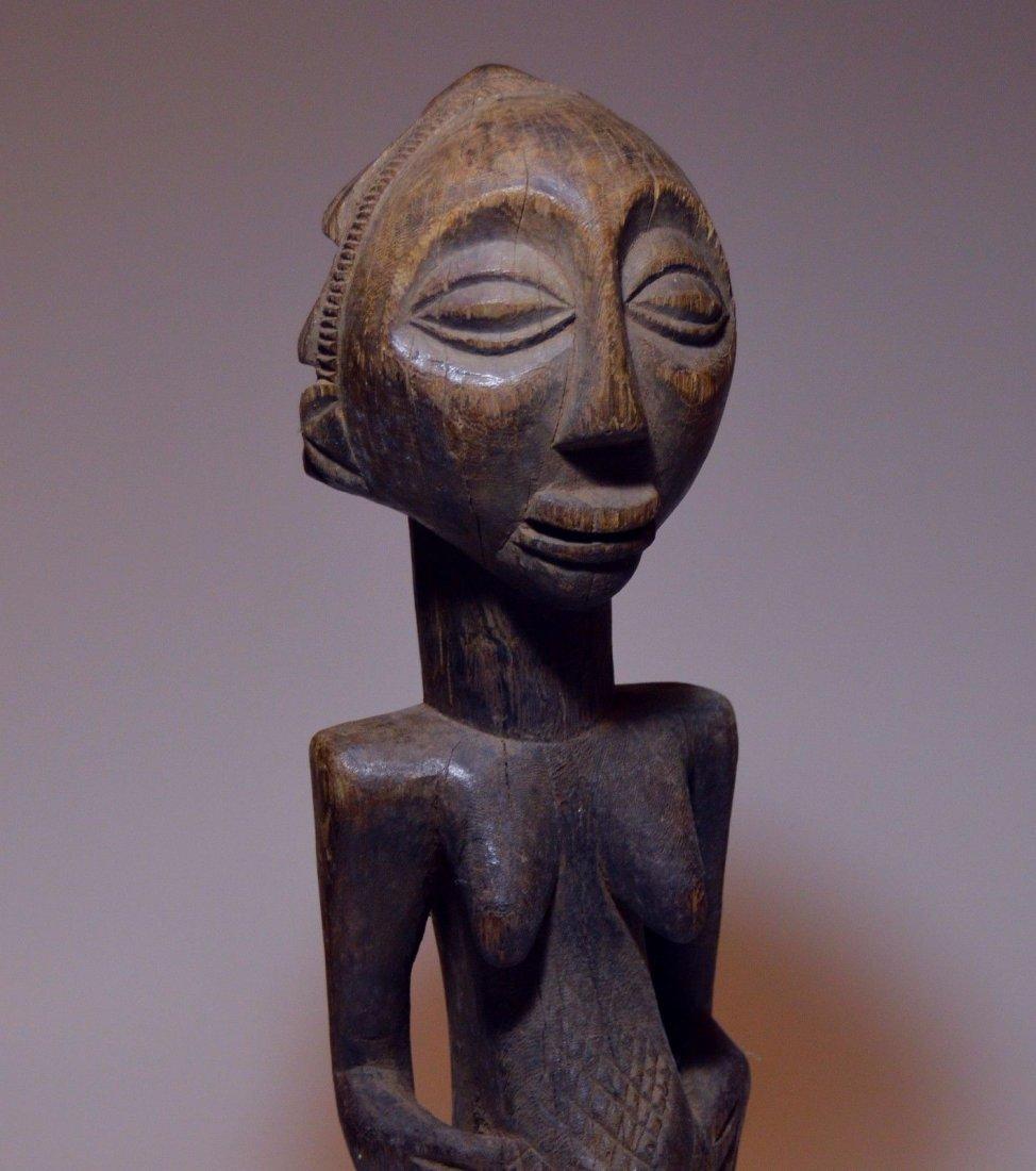 Vintage Hemba female sculpture, African Tribal Art - 7