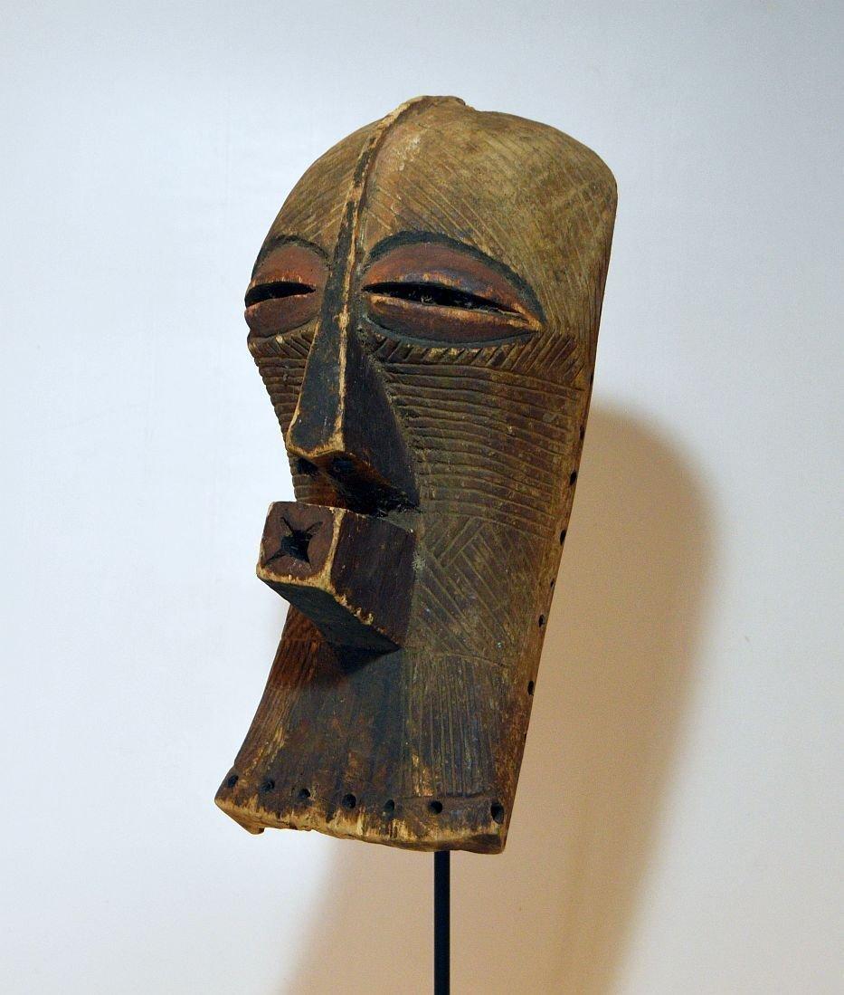 Fine Old Songye Kifwebe Society African mask - 2
