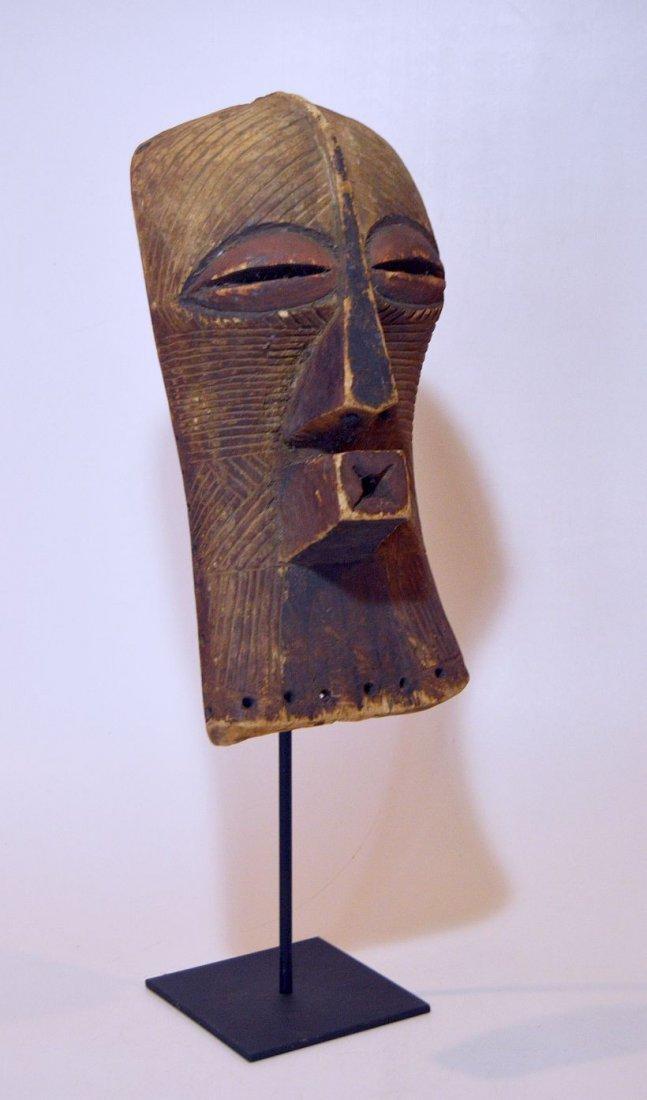 Fine Old Songye Kifwebe Society African mask - 3