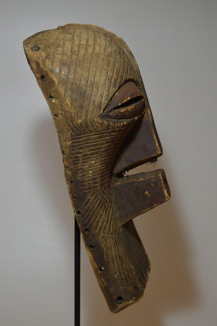 Fine Old Songye Kifwebe Society African mask - 4