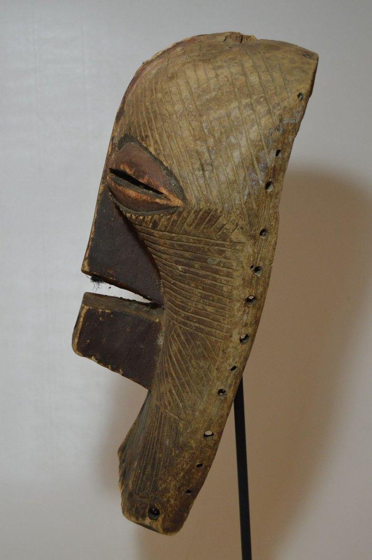 Fine Old Songye Kifwebe Society African mask - 5