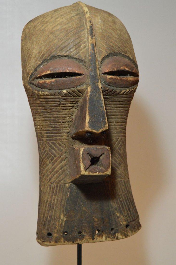 Fine Old Songye Kifwebe Society African mask - 8
