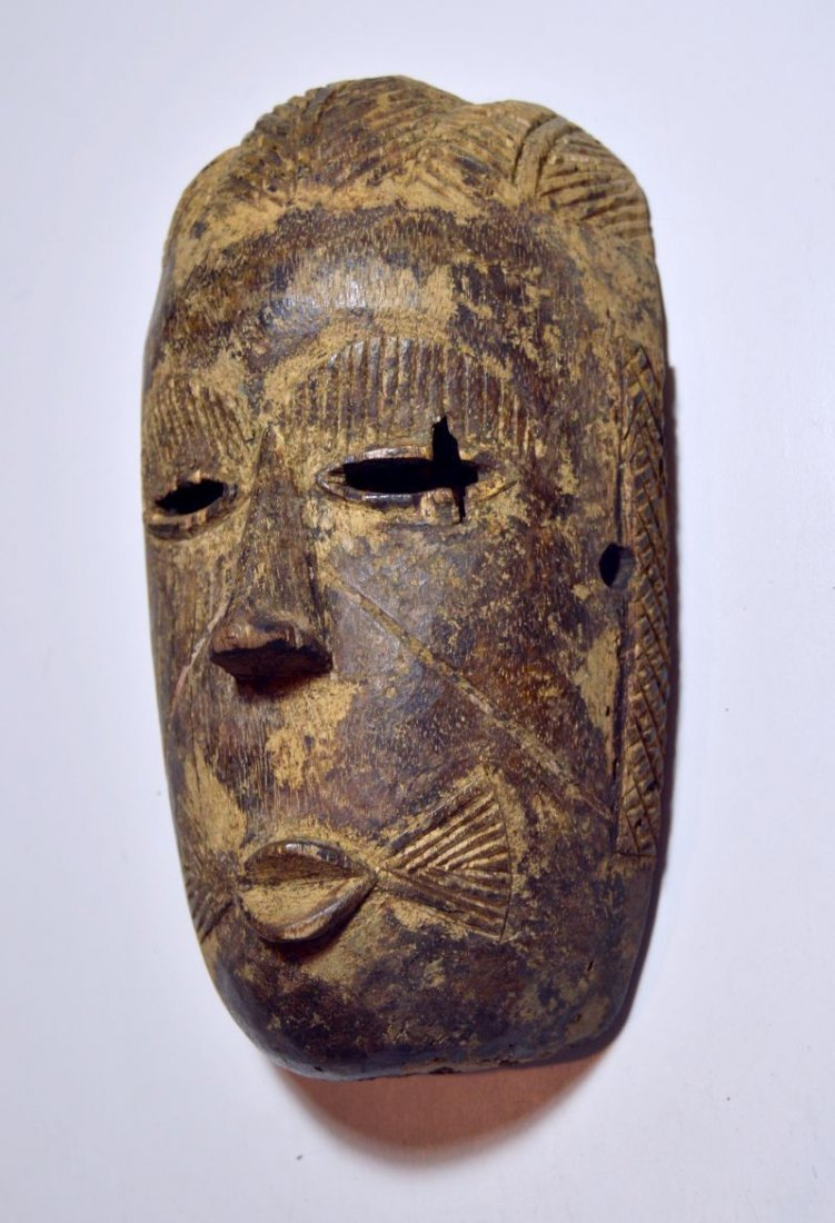 Rare old Tiv mask from Nigeria, African Tribal Art