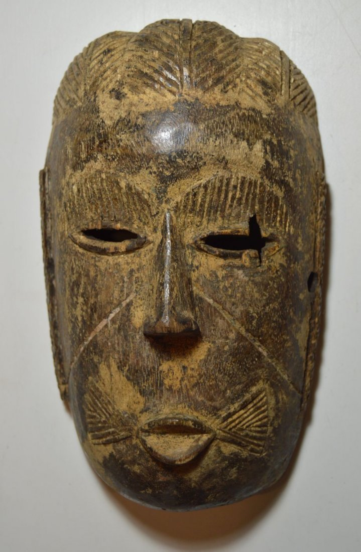 Rare old Tiv mask from Nigeria, African Tribal Art - 2