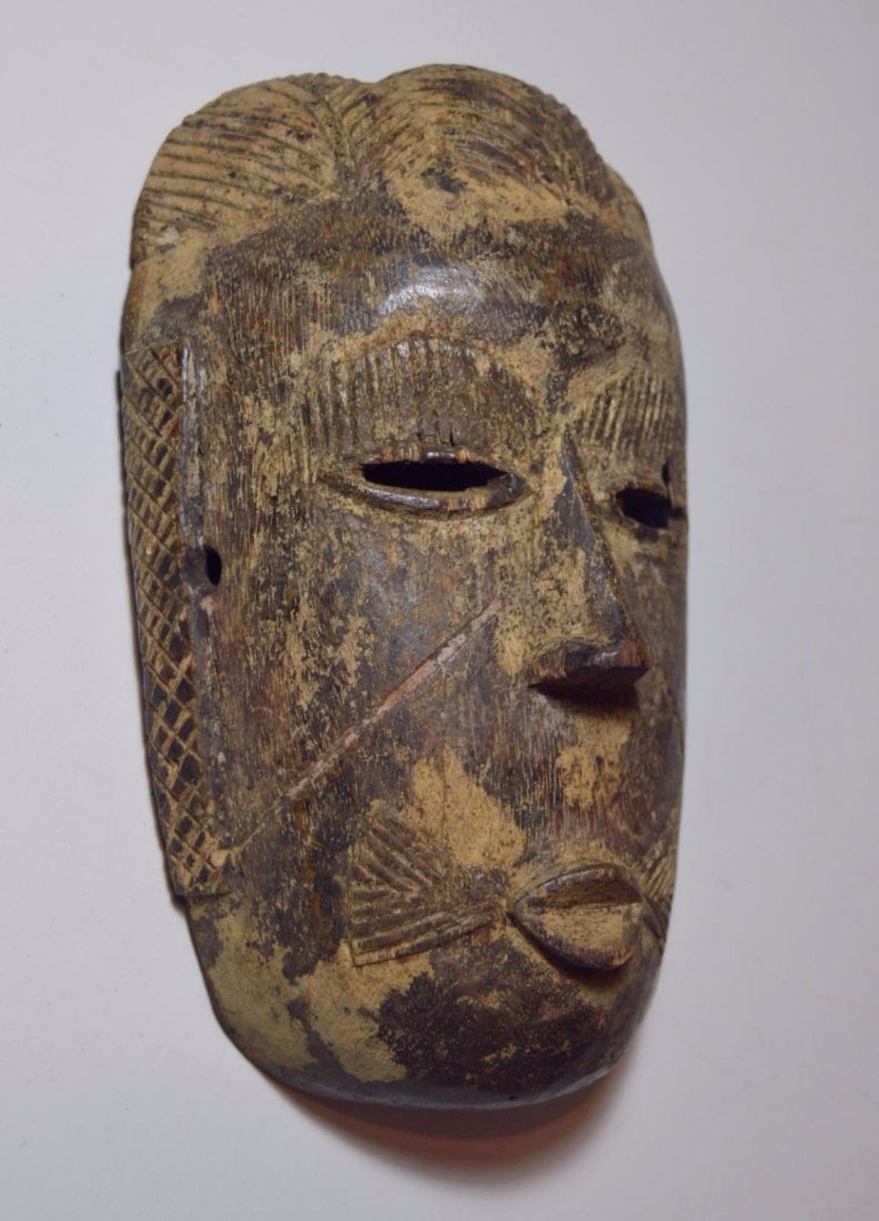 Rare old Tiv mask from Nigeria, African Tribal Art - 5