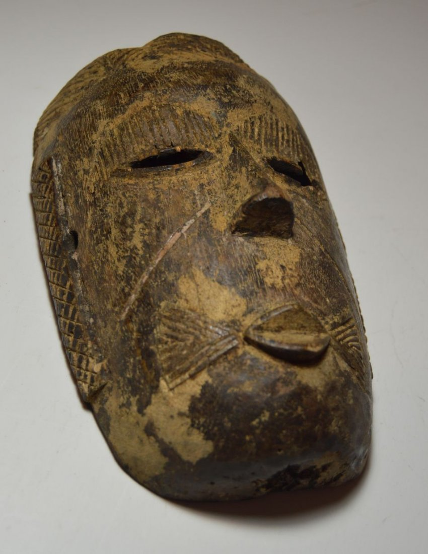 Rare old Tiv mask from Nigeria, African Tribal Art - 6