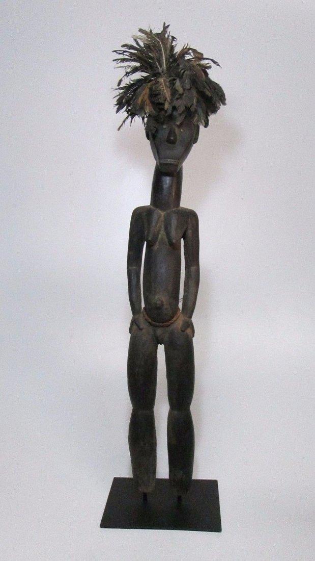 Huge Fang Byeri Female ancestor sculpture, African Art - 3