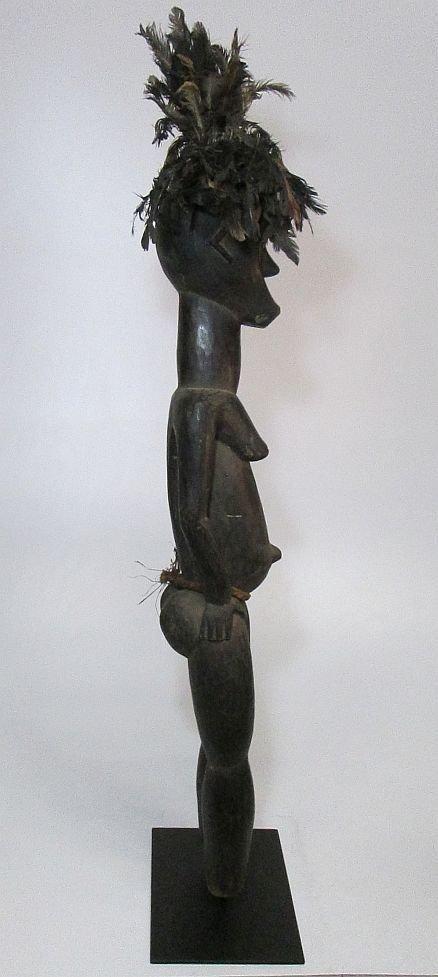 Huge Fang Byeri Female ancestor sculpture, African Art - 4