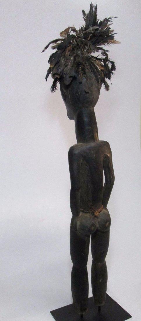 Huge Fang Byeri Female ancestor sculpture, African Art - 5