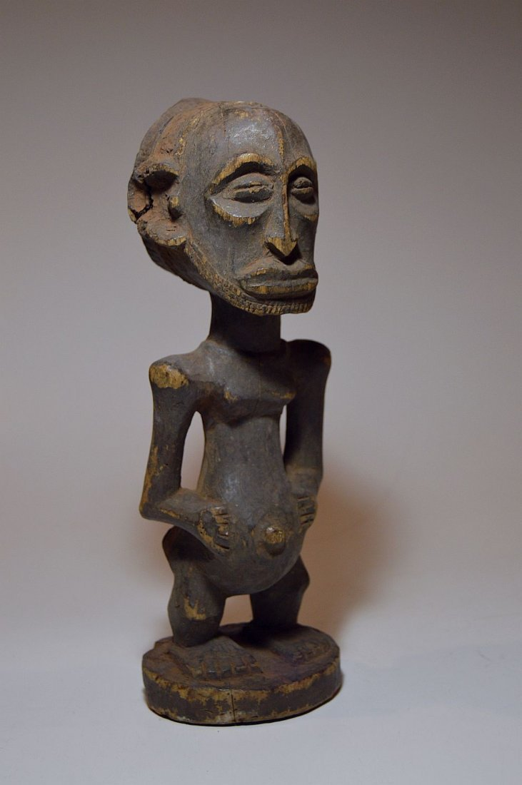 Old Hemba Male sculpture, African Tribal Art