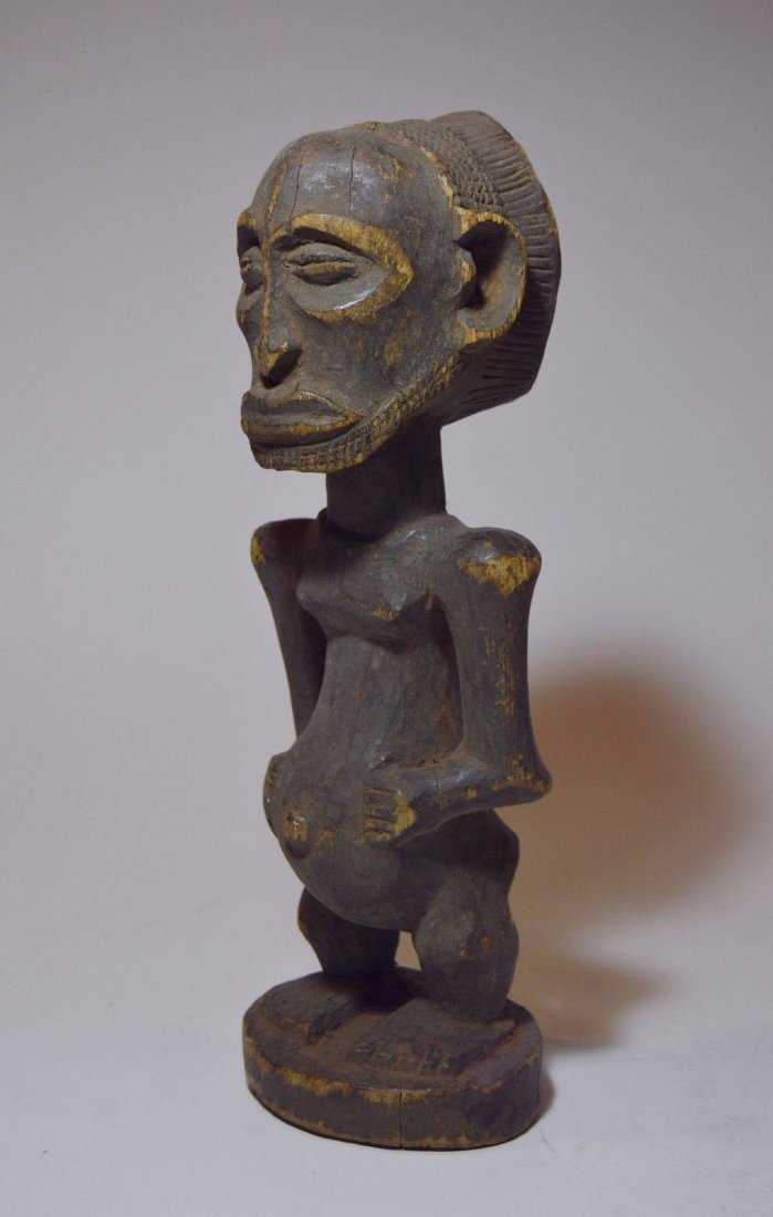 Old Hemba Male sculpture, African Tribal Art - 2