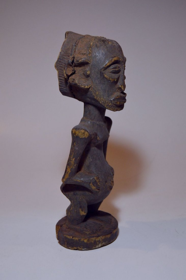 Old Hemba Male sculpture, African Tribal Art - 5
