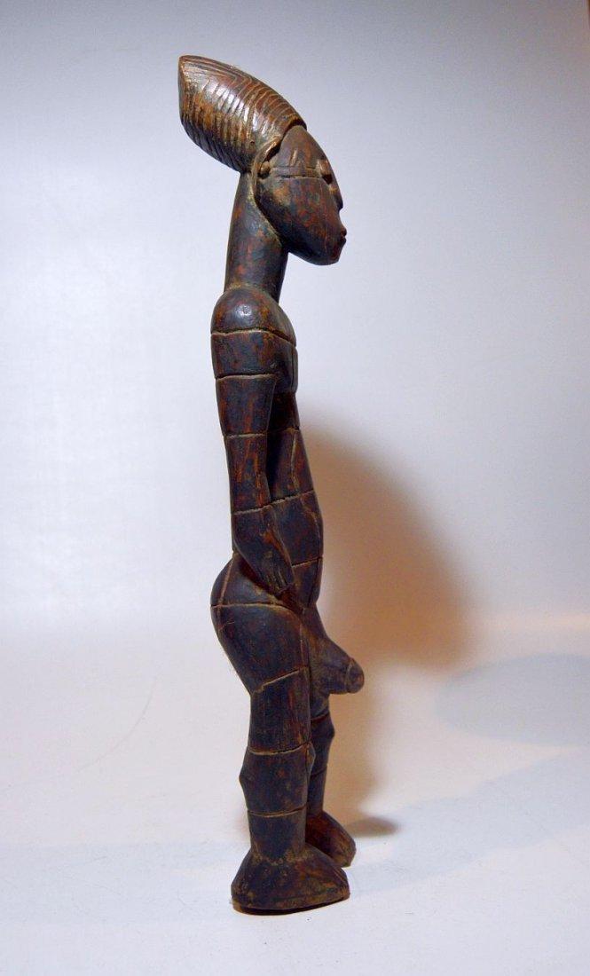Vintage Mangbetu Male Ancestor sculpture, African Art