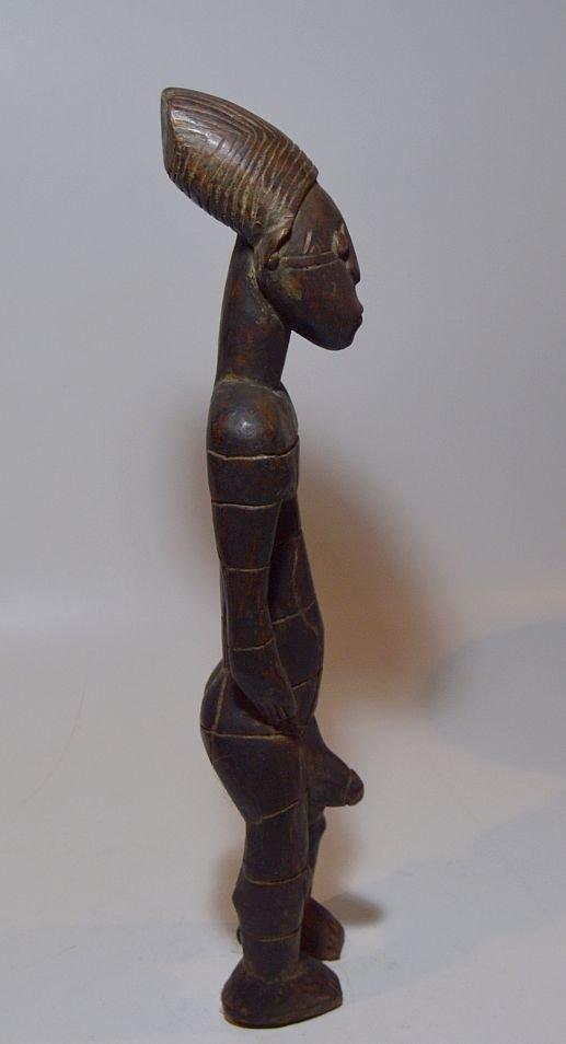 Vintage Mangbetu Male Ancestor sculpture, African Art - 3