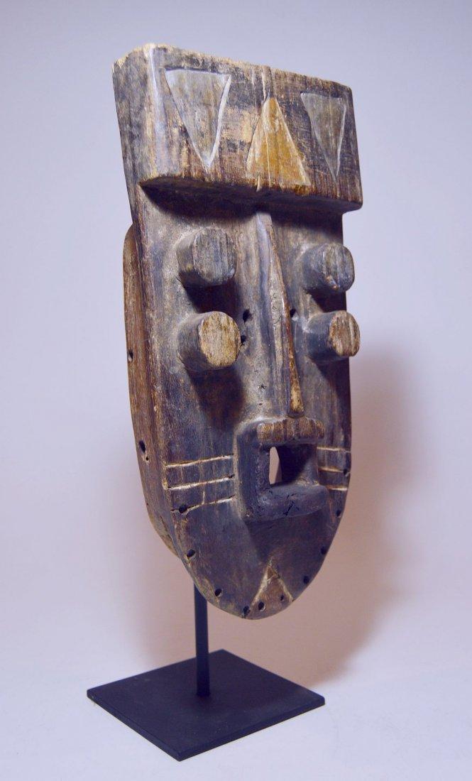 Fantastic Old Grebo Geometric African mask, African Art - 3