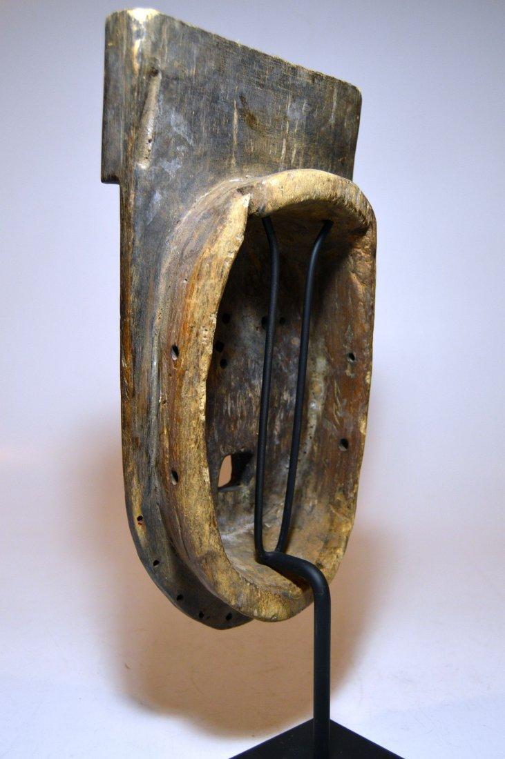 Fantastic Old Grebo Geometric African mask, African Art - 5