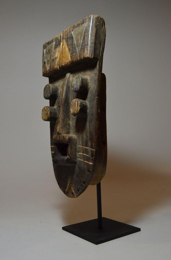Fantastic Old Grebo Geometric African mask, African Art - 6
