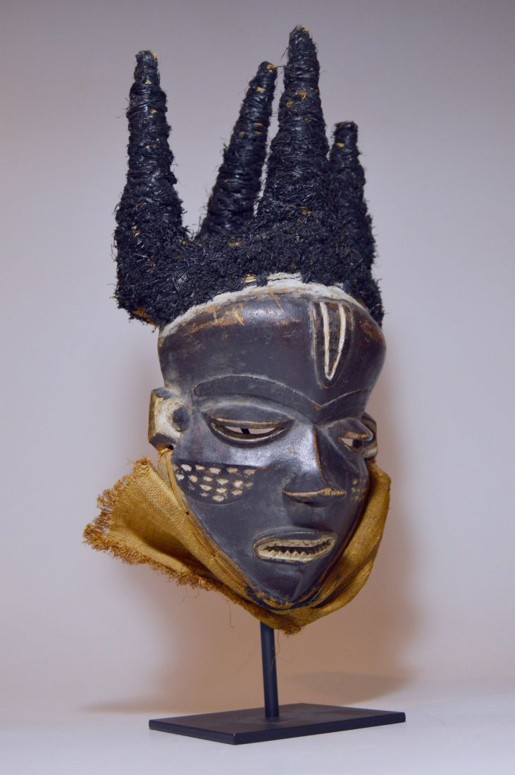 Chief's mask from the Pende , Mbuya Phumbu, African Art - 2